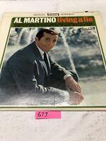 Al Martino  Living A Lie Vinyl   LP Album