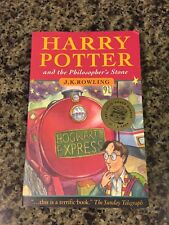 Harry Potter And The Philosopher's Stone-First Bloomsbury UK Trade Paperback
