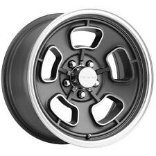 """Vision 148 Shift 15x5.5 5x4.5"""" +7mm Gunmetal/Machined Wheel Rim 15"""" Inch"""