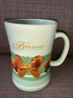 Bellagio Butterflies Coffee Mug Rare