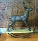 Primitive Rocking Horse Reindeer Farmhous Christmas Decor Wood Antique Style