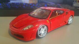 Maisto 1/24 Ferrari F430 Diecast Model Car Playworn