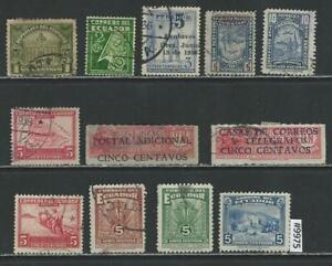 #9975 ECUADOR Lot Postal Tax Stamps Used