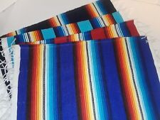 Mexican Serape Style Cloth Placemats Southwest Saltillo Place mat Set of 4 Mixed
