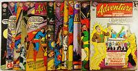 Adventure Comics #345-380 Lot of 11 See Listing for Details VG-FN Superboy SA