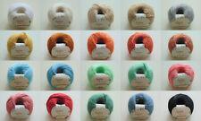 Anchor - Organic Cotton - 50g - Garn - Wolle - 100% Baumwolle - 100g/6,80€