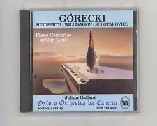 (CD) Górecki, Hindemith,...: Pno Ctos of Our Time /Gallant;Oxford Orch da Camera