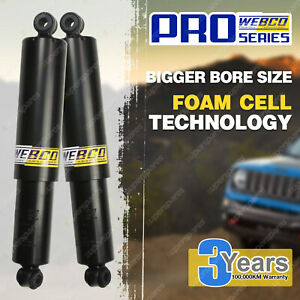 "2"" 50mm Lift Rear Foam Cell Shock Absorbers for Isuzu D-Max TF 3.0 TD 08-on"