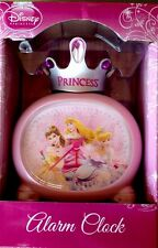 Disney Clock Princess Alarm Clock Custom Shaped Hands And Snooze Button