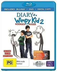 Diary Of A Wimpy Kid 2 Blu Ray ....Region B