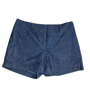 Daisy Fuentes Blue Chambray Shorts 4