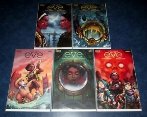EVE #1 2 3 4 5 (of 5) BOOM STUDIOS 2021 COMIC NM lot Victor Lavalle Jo Migyeong