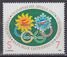 Österreich Austria 1992 ** Mi.2048 Olympische Spiele Winter Olympic Games