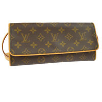LOUIS VUITTON POCHETTE TWIN GM CROSS BODY SHOULDER BAG MONOGRAM AK31902d