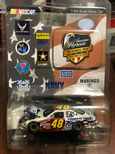 2007 Jimmie Johnson Lowes American Heroes Memorial Day Pride car 1:64 Action HO