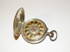 Syteme Roskopf,Chronometre MI,Patente,Lion,Löwe,Savonette,Pocket Watch,TU,RaRe!