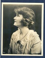LOVELY BILLIE BURKE ( GLINDA OF OZ ) PROFILE BY APEDA SILENT ERA  EXC COND - SIL