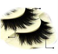 5 Pairs Soft Dramatic False Eyelashes Set ST14 Long Wispy Strip Lashes Make Up