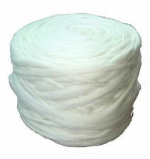 1 LB Natural White Wool Merino 23 Mic Top Roving Fiber Spinning Felting Soft