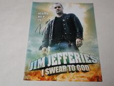 JIM JEFFERIES SIGNED 8.5X11 PHOTO COMEDIAN LEGIT STAND UP FX AUTOGRAPHED