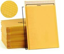 Kraft Bubble Padded Envelopes Mailers 8x11 Pack Of 30