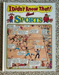 I Didn't Know That!  about SPORTS by Kids Books Inc written by Anthony Tallarico