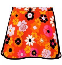 Women Victoria Beckham Plus Size Retro Floral Pebble Crepe Skirts 2x VS