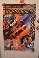STAR WARS THE PHANTOM MENACE Podracing Anakin Movie Poster Episode 1 1999 (C)