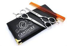Set di Forbici Professionali da Parrucchiere o Barbiere 14cm + Astuccio