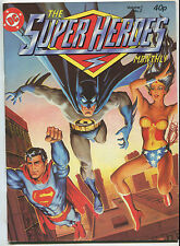 1980 The Super Heroes Monthly Vol 1 #2 Superman Batman & Wonderwomen~UK~ (8.0)