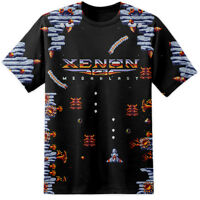 Officially Licensed Xenon 2 Megablast T Shirt Retro Gaming Megadrive Atari Amiga