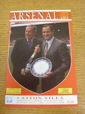 03/04/1991 Arsenal v Aston Villa [Championship Season] (Crease). Thanks for view