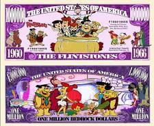 LES PIERRAFEU BILLET MILLION DOLLAR! Série Dessin Animé Hanna Barbera Flintstone