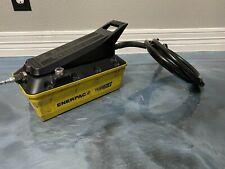 Enerpac Turbo Ii 1z907 Pneumatic Air Hydraulic Foot Hand Pump 10000 Psi