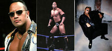 WRESTLING WWF THE ROCK 2000 COMIC IMAGES COMPLETE PROMO CARD SET P1 TO P3