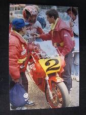 Photo Cagiva GP500 C588 1988 #2 Randy Mamola (AUS) GP Belgium Spa