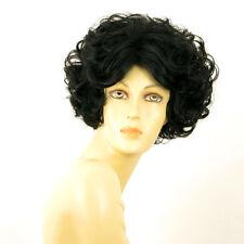 Perruque femme courte bouclée noir LADY 1B