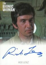 Bionic Collection The Bionic Woman Rick Lenz Autograph Card