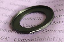 40,5mmA 58mm Macho-Hembra INTENSIFICADOR Adaptador del anillo filtro 40,5mm