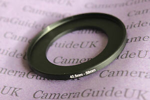 40,5mm to 58mm Male-Female Stepping Step Up Filter Ring Adapter 40,5mm-58mm