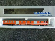 LS Models ref 42001 SNCB NMBS fourgon DMS orange