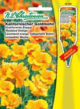 CALIFORNIA goldmohn,Rosebud,semillas,Eschscholzia California, chrestensen, SL
