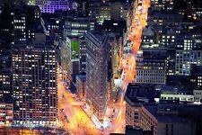 VLIES Fototapete-(1673V)-FLAT IRON BUILDING-250x180cm-5Bahnen-New York Manhattan