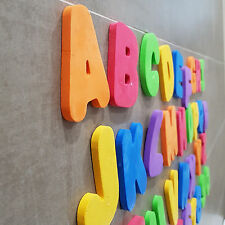 ABC Letters Numbers Learning Bathtub Bath Time Kids Toddler Toys Foam Floating