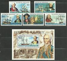 Malagasy Republic 1975 VF MLH Stamps & S.S. Scott# 525-6,C 153-5,C156 CV 14.50$