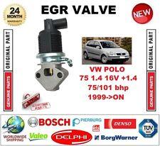 Per VW Polo 75 1.4 16 V +1.4 75/101 BHP 1999-ON ELETTRICO VALVOLA EGR 5 PIN PLUG