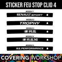 Sticker feu stop Renault Clio 4 RS Renault sport / GT / GT line