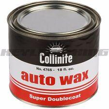 Collinite 476 18oz Large Super Double Coat Auto Wax Deatail Carnauba 476S