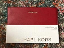 "Michael Kors Red Leather Gold Label Sleeve Laptop Case For 13"" MacBook Air"