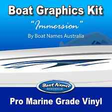 Boat Graphics Kit - Immersion